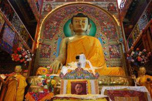 Tawang monastery - Buddha
